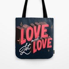 Love & Let Love Tote Bag