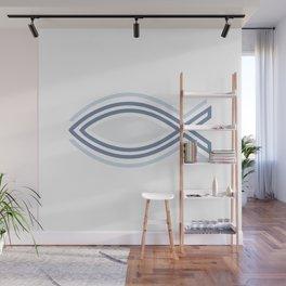 Ichthys Christian Fish Symbol. The jesus fish #society6 #decor #buyart #artprint Wall Mural