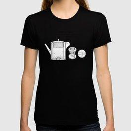 Coffee pot Goldsmith Martyn patent art 1899 T-shirt