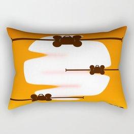 Rebel Resistence Rectangular Pillow