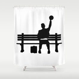 #TheJumpmanSeries, Gump Shower Curtain