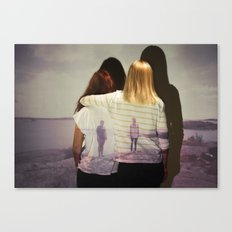 Together & Alone Canvas Print