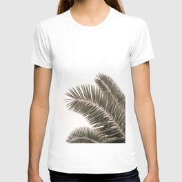 Palm Leaves, Modern Minimalist Photography T-shirt