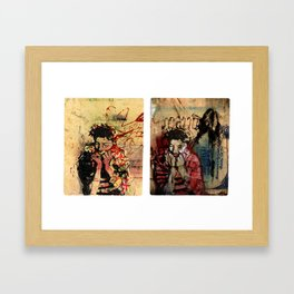 As Time Grinds Down Framed Art Print