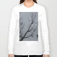 alone Long Sleeve T-shirts featuring ALONE by Annie Koh