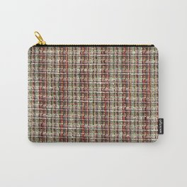 Plaid Tweed Texture Fabric  Carry-All Pouch