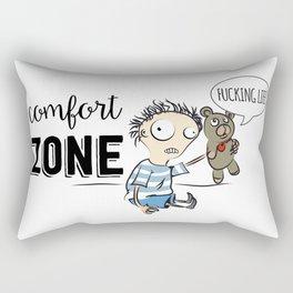Confort Zone Rectangular Pillow