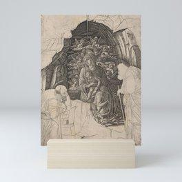 Andrea Mantegna - The Adoration of the Magi (Virgin in the Grotto) Mini Art Print