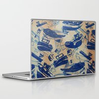 boats Laptop & iPad Skins featuring Boats by Heather Fraser