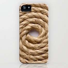 Sisal rope iPhone Case
