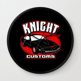 Knight customs Wall Clock