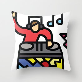 Let's Party Throw Pillow