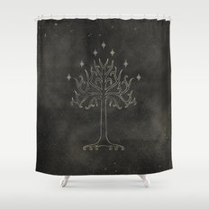 Lord of the Rings: Tree of Gondor Shower Curtain