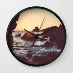 The Sun & The Sea Wall Clock