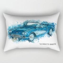 58 Roadster Rectangular Pillow