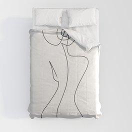 Single Back Line Comforters
