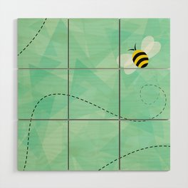 BUZZ OFF Wood Wall Art