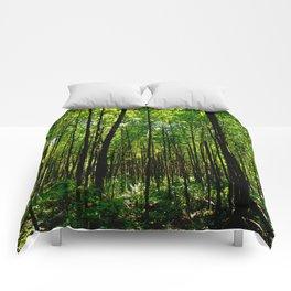 Green breeze Comforters