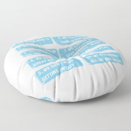 10 Reasons To Date Snowmobiler Ski Racing Snowmachine Winter Travel Gifts Floor Pillow