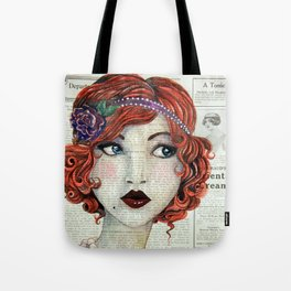 Eyes of Blue Tote Bag