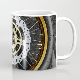 gold wheel Coffee Mug