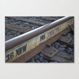 Tracks on Tracks Canvas Print