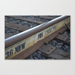Tracks on Tracks Canvas Print
