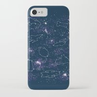 ships iPhone & iPod Cases featuring Star Ships by Mandrie