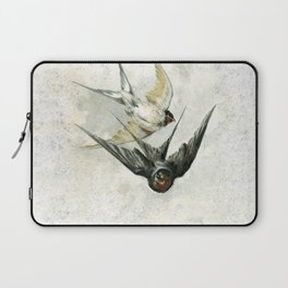 Vintage Soaring Birds Laptop Sleeve
