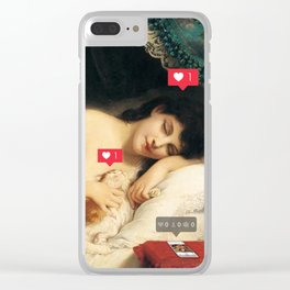 True Love Clear iPhone Case