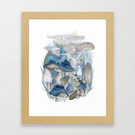 Alice in Wonderland - The Caterpillar Framed Art Print
