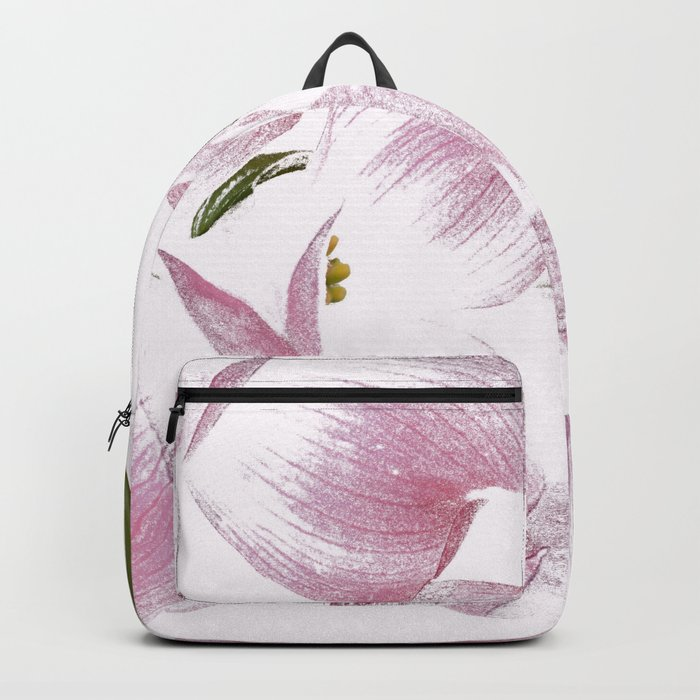 Dogwood Tree Flowers-pink Backpack