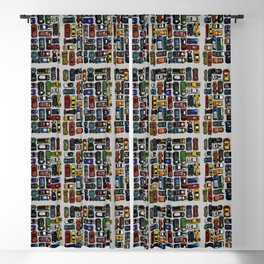 Toy cars pattern Blackout Curtain