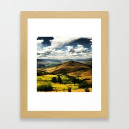 MT 3 Framed Art Print