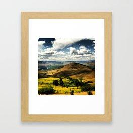 MT 3 Framed Art Print