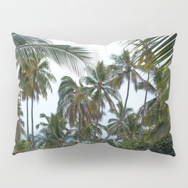 Place of Refuge Palm Trees Pillow Sham