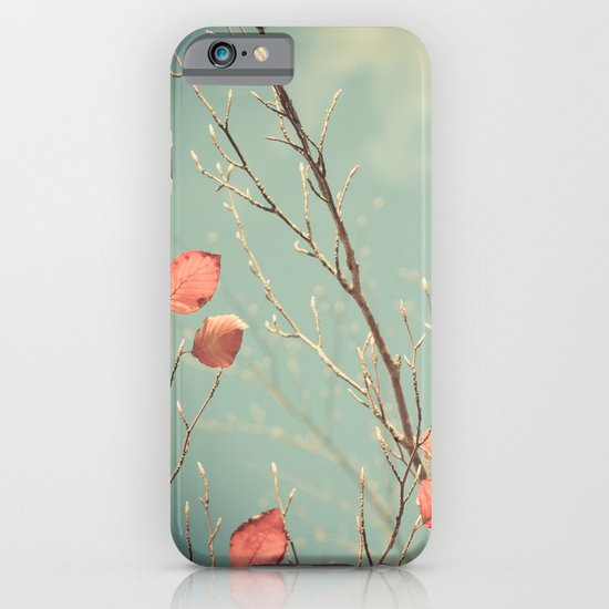 The Winter Days of Autumn iPhone & iPod Case