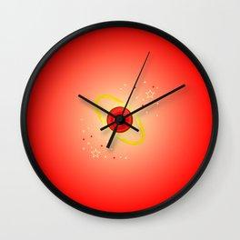 Mars Power Wall Clock