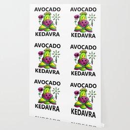 Avocado Kedavra - Death Eater Avocado with Wand Wallpaper