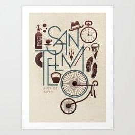 San Telmo Art Print