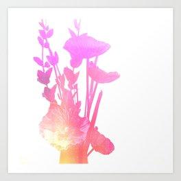 Fake Flowers Art Print