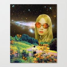 Distant Meeting Canvas Print