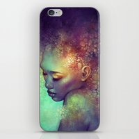 camouflage iPhone & iPod Skins featuring Camouflage by Anna Dittmann