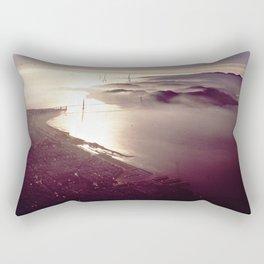 San Francisco Bay Area, California 1970 Rectangular Pillow