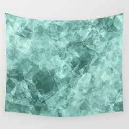 crystal blue.1 Wall Tapestry