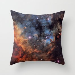 The Devil Nebula Throw Pillow