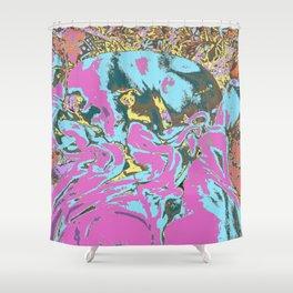 Snoogle Bear Shower Curtain