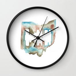 CBUS Wall Clock