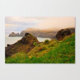 Coastal landscape in Azores Canvas Print