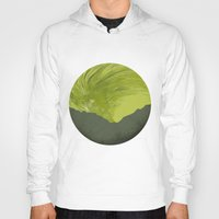 northern lights Hoodies featuring Northern lights 1 by Richard Seyb